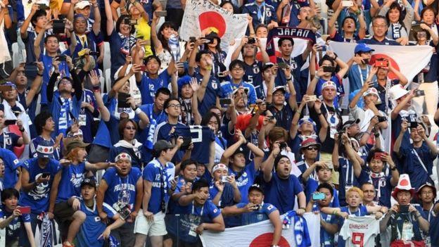 Đội Nhật vượt qua vòng bảng
