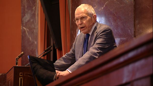Edmund Phelps no parlatório