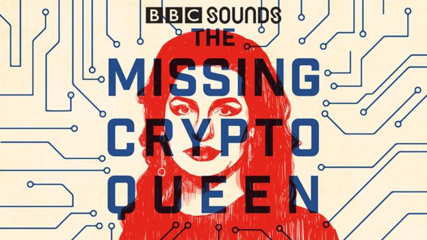 Missing Cryptoqueen podcast logo