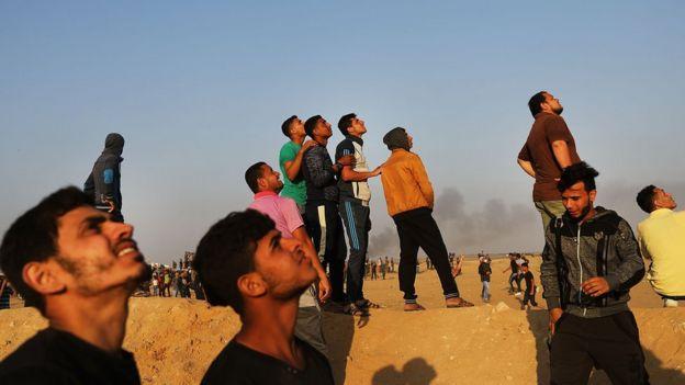 Gazzeli gençler