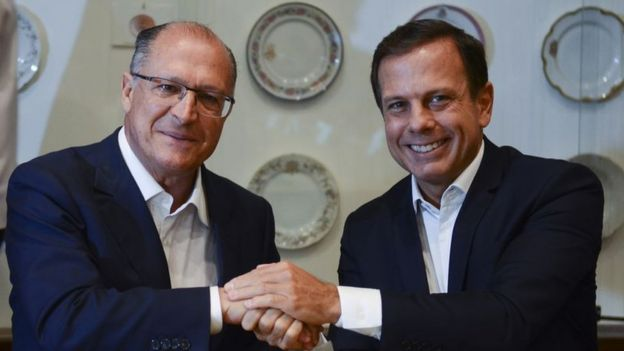 Geraldo Alckmin e João Dória