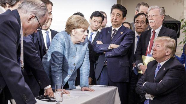 Merkel và Trump