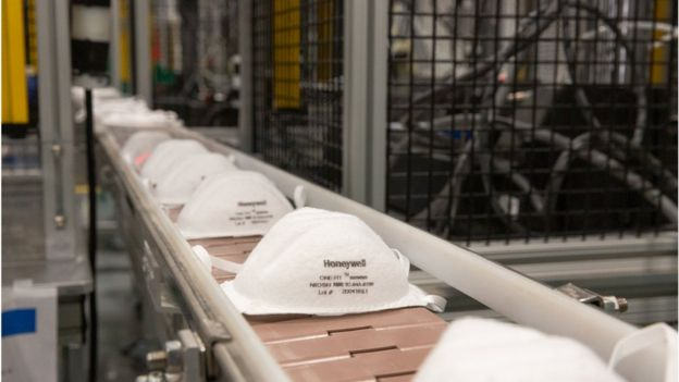Línea de producción Honeywell
