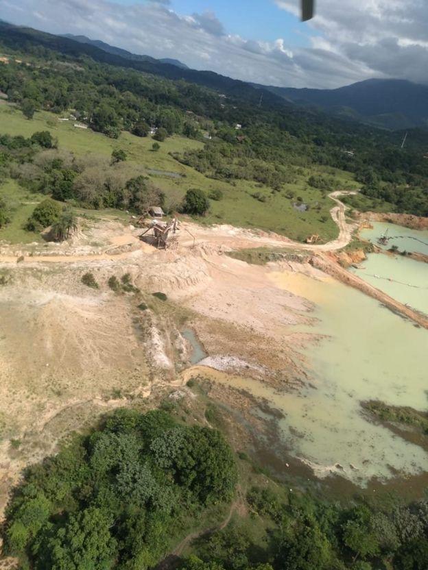 Areal em área de proteção ambiental