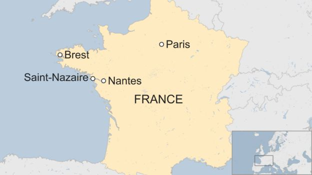 Map Of France Nantes.Troadec Case Two Relatives Arrested Over French Family
