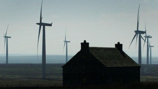 Wind farm near Thurso