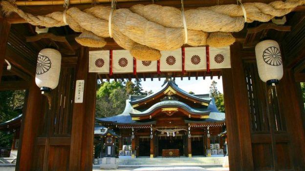 Templo budista limpio
