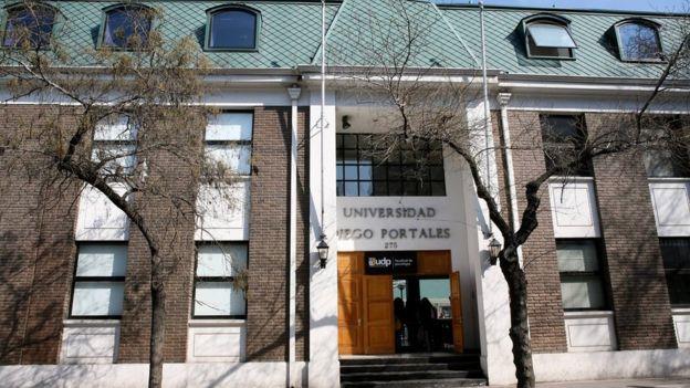 Fachada edificio Universidad Diego Portales
