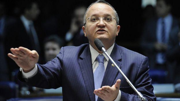Petro Taques no Senado em 2013
