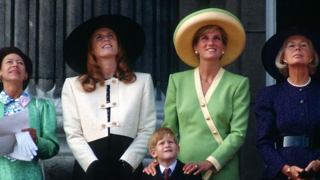Princess Diana and Sarah Ferguson