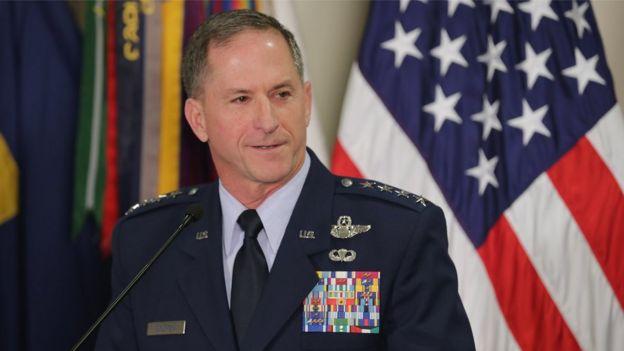 Đại tướng David L. Goldfein, Tham mưu trưởng Không quân Mỹ