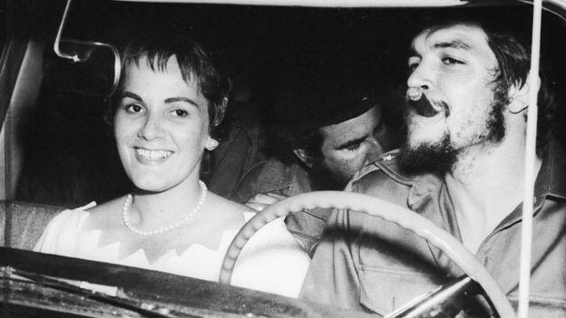 Aleida March com Che Guevara