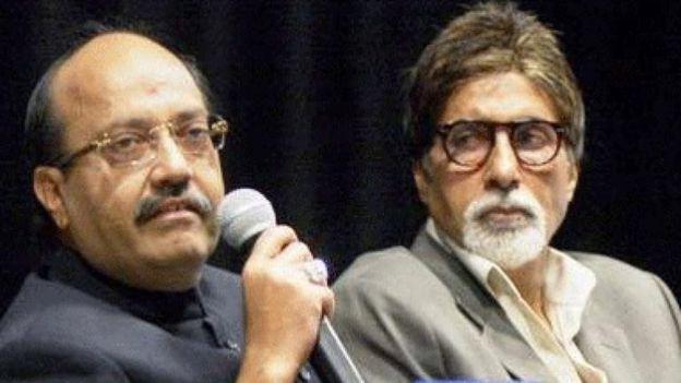 अमर सिंह अमिताभ बच्चन के साथ