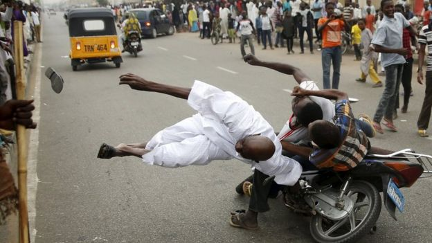 Celebrations in Kano after Mr Buhari's victory