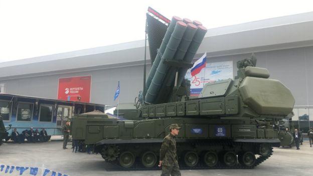"9K317M - пусковая машина ЗРК ""Бук-M3"""