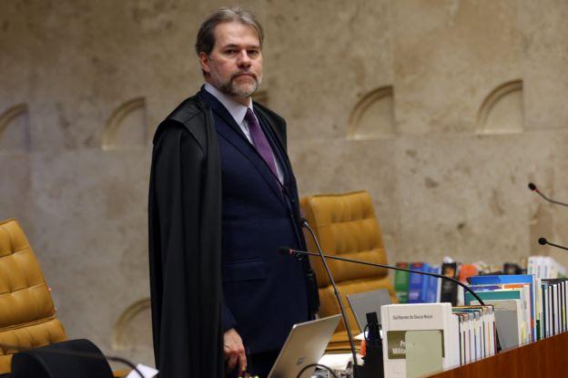 Ministro Dias Toffoli, que assumi a presidência do STF na quinta-feira, dia 13
