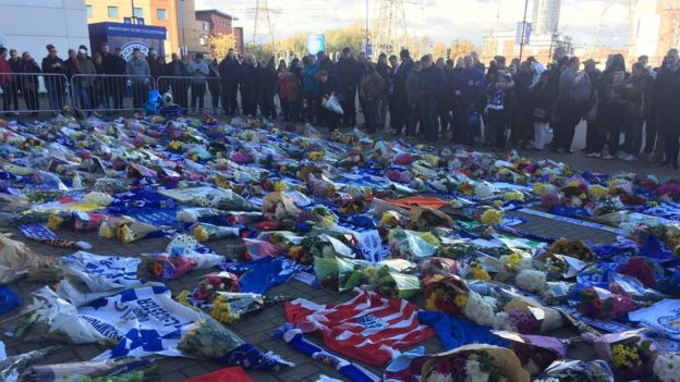 Leicester City King Power Stadium helicopter crash