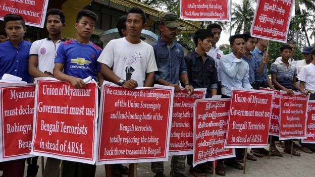 Warga Myanmar