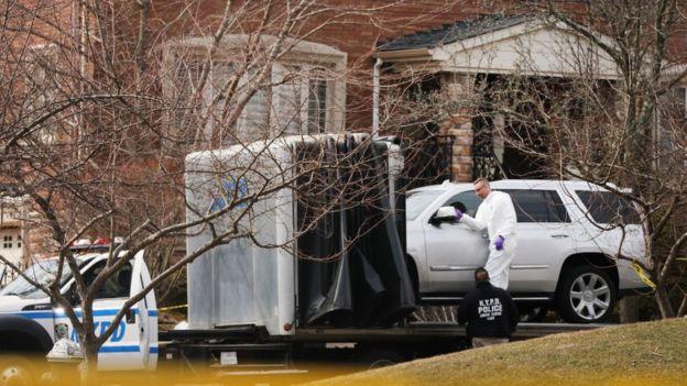 Cali fue atacado a tiros frente a su vivienda en el distrito de Todt Hill en Staten Island.