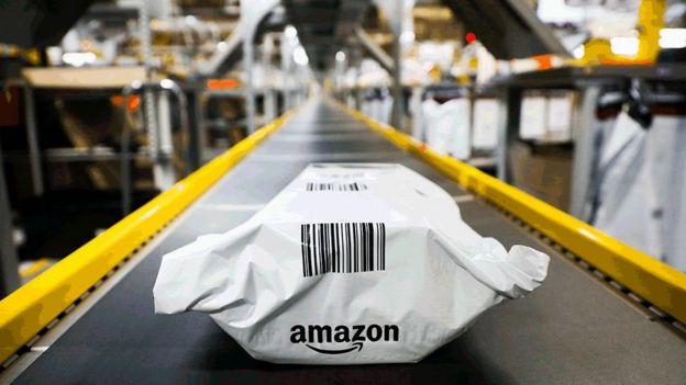 Pacote da Amazon