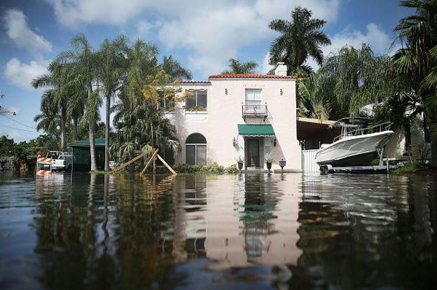 น้ำท่วมบ้าน