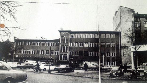 BBC在西柏林的辦公室