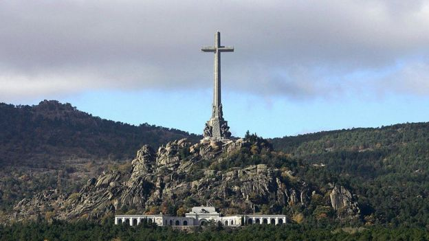 Vista del Valle de los Caídos.