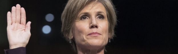 """Former Acting Attorney General Sally Yates testifies before the Senate Judiciary subcommittee hearing entitled, """"Russian Interference in the 2016 United States Election"""""""
