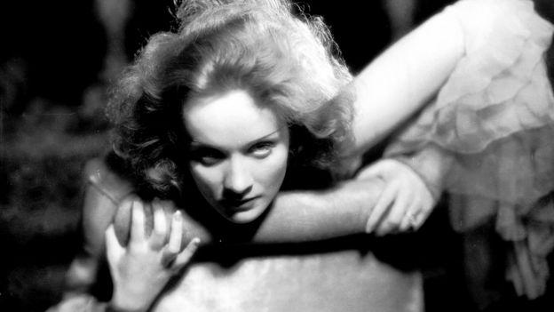 """Marlene Dietrich (1901-1992) en """"Deshonrada"""""""