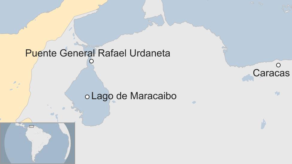 Mapa Maracaibo