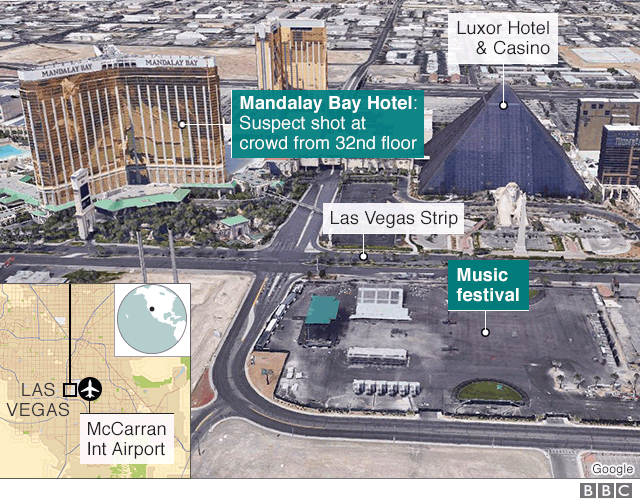 LAS VEGAS SHOOTING 50 PEOPLE KILLED IN MANDALAY BAY ATTACK