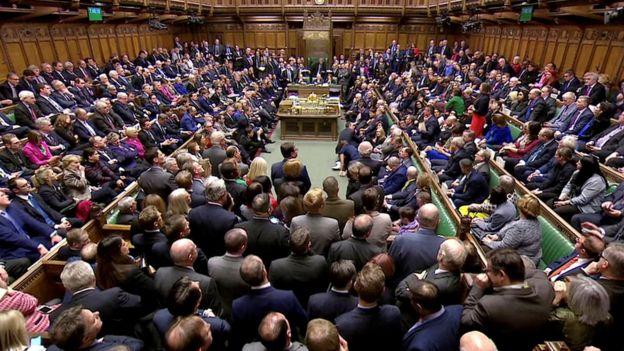 Sessão no parlamento