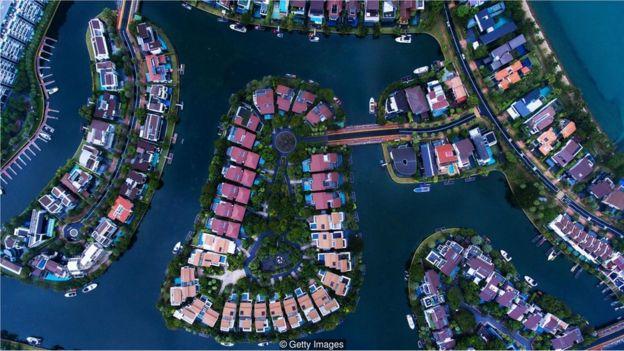 Cingapura do alto