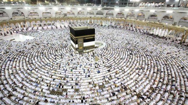 Fiéis muçulmanos