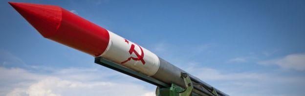 Réplica de misil soviético en Cuba