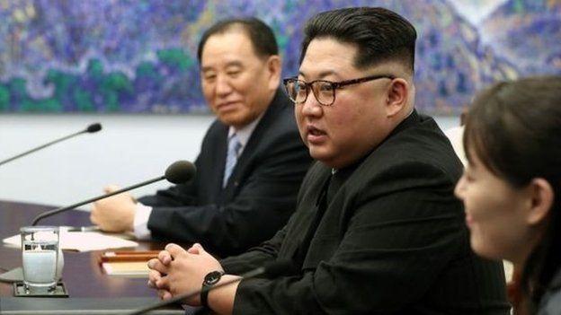 ژنرال کیم یونگ-چول در اجلاس سران دو کره، دست راست رهبر کره شمالی بود