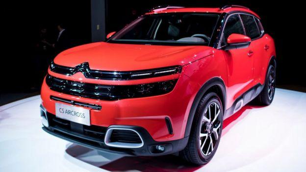 سیتروئن مدل C5 ایرکراس را از سال گذشته در چین عرضه کرده است