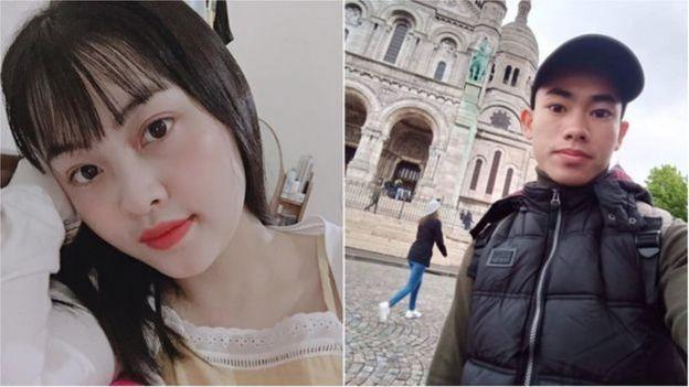 Phạm Thị Trà My và Nguyễn Đình Lượng là hai người được cho là nằm trong số 39 nạn nhân