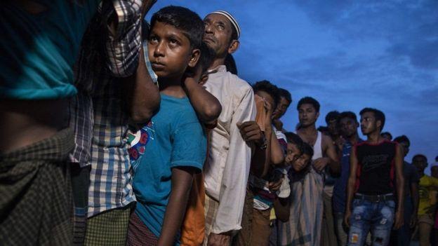 Pengungsi Rohingya di Cox's Bazar, Bangladesh