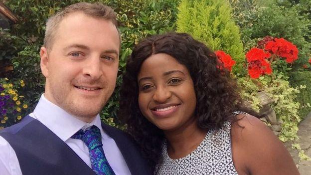 Samantha Hewitt and her husband Ashley