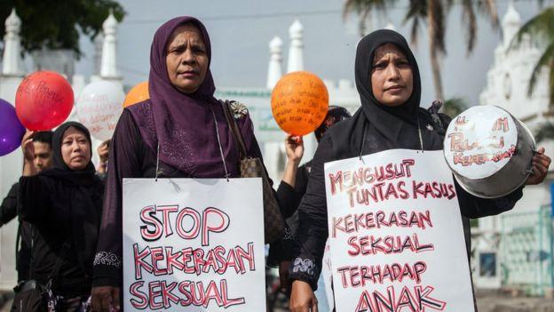unjuk rasa, kekerasan seksual