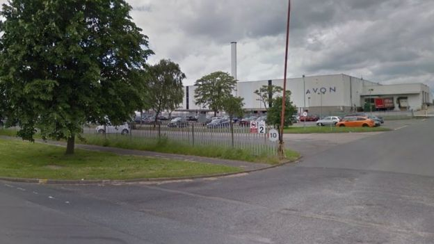 Avon base in Corby, Northamptonshire.