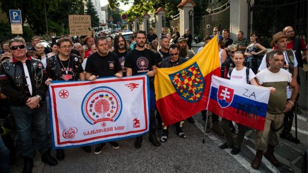 Slovak friends of Night Wolves, 27 Jul 18