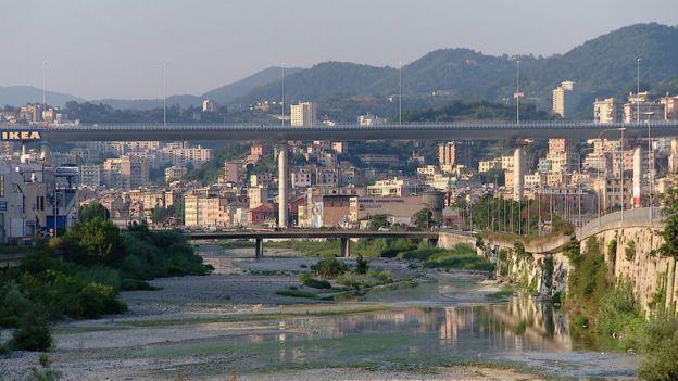 Bridge in Genoa