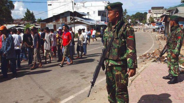 Kerusuhan Ambon pada 2004