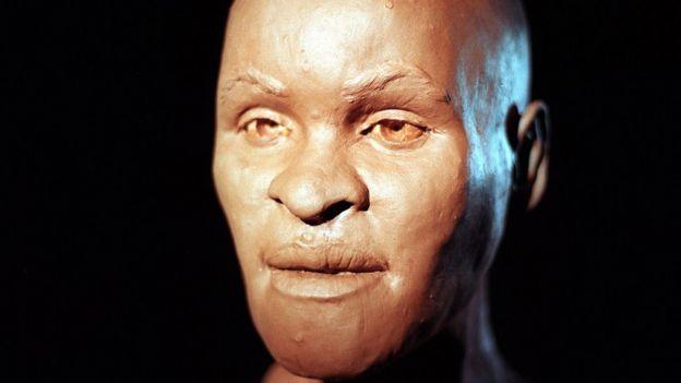 Реконструкция лица Лузии