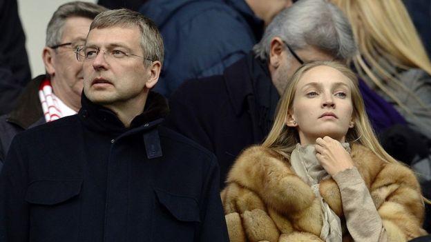 Dmitry Rybolovlev y su esposa Elena