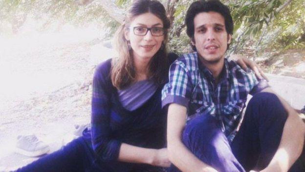 امیرحسین محمدی فرد و ساناز الهیاری