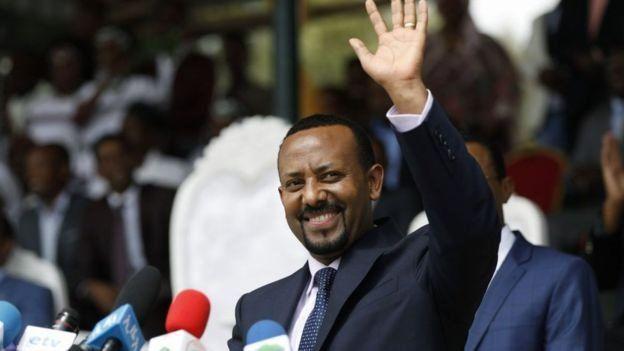 احمد ابی، نخست وزیر اتیوپی