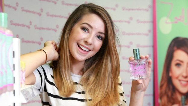 Zoella published her first novel in 2014 and has her own cosmetics line
